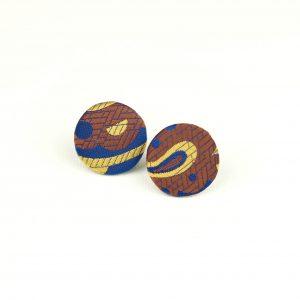 fülbevaló, nyakkendő, újrahasznosított, ékszer, bedugós