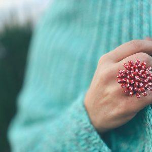 Valódi bőr gyűrűk